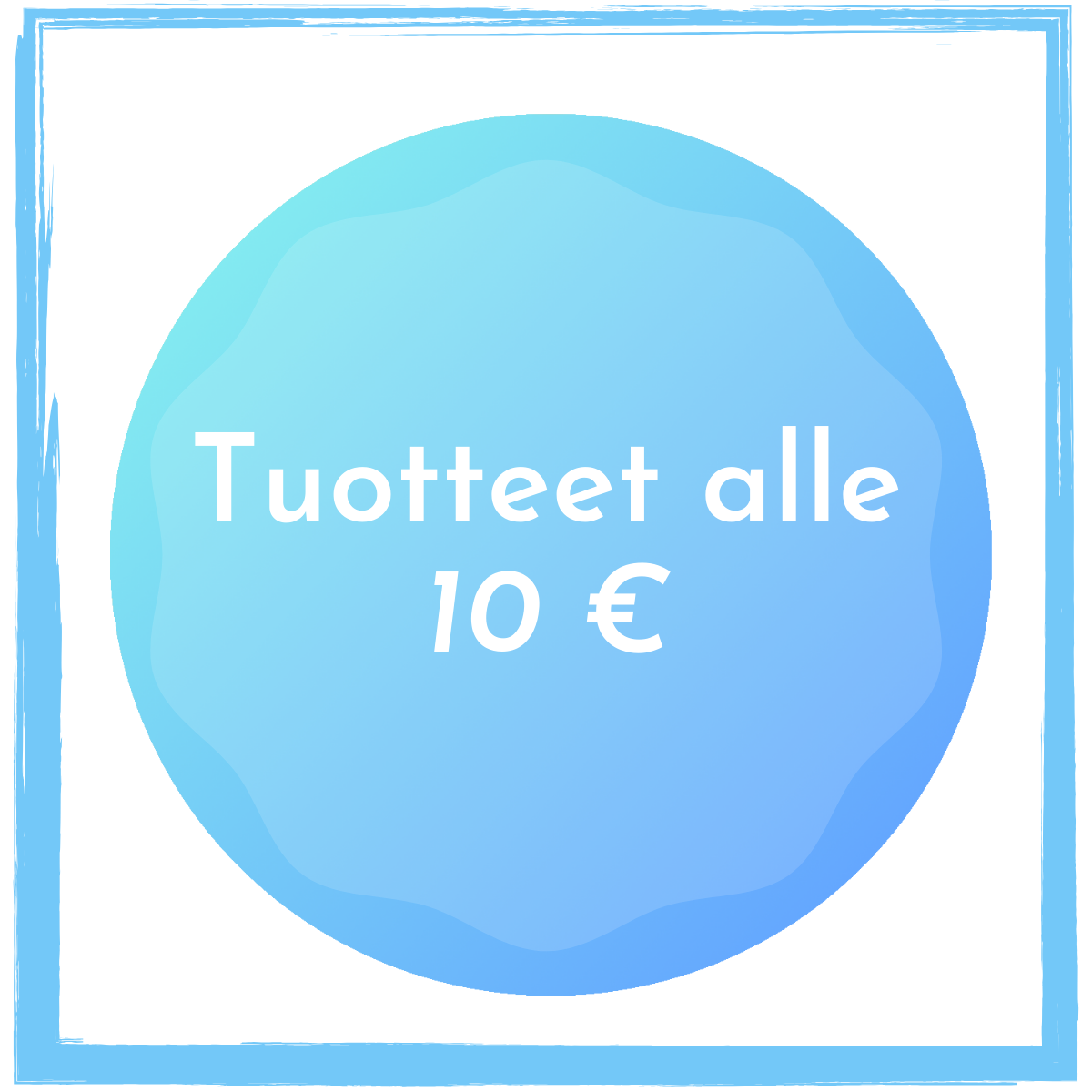 Alle 10 euroa