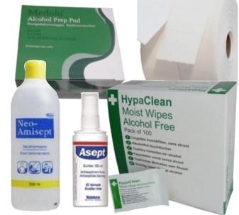 Desinfektio ja ihonpuhdistus