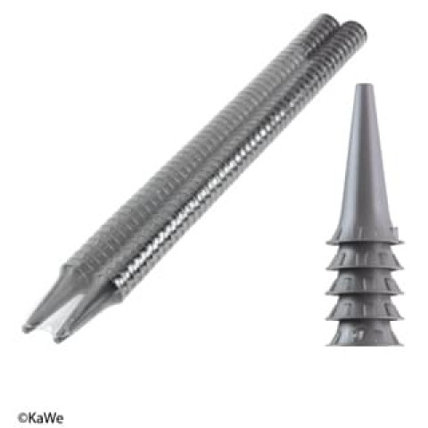 KaWe korvasuppilot 2.5 mm