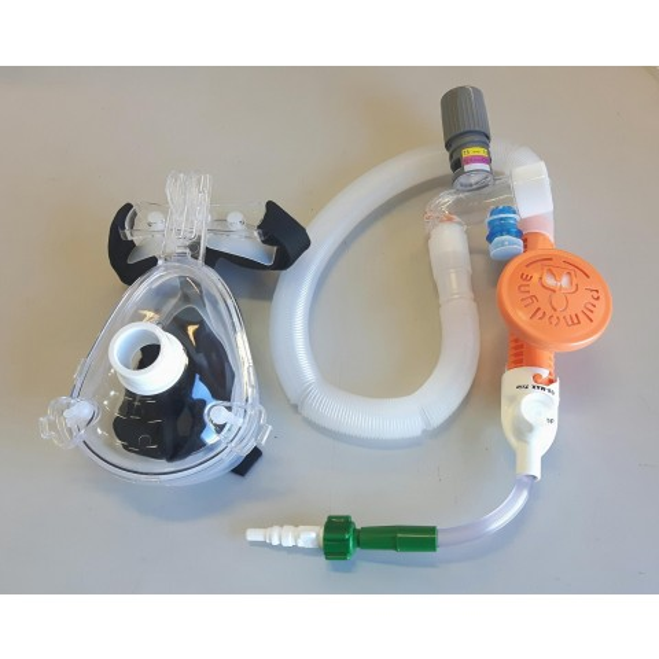 Pulmodyne O2-Max Trio CPAP-setti, kertakäyttöinen