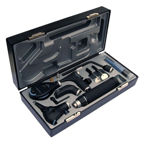 Riester ri-scope de luxe oto- L3 / oftalmoskooppi L2 LED 2,5V C-kahva