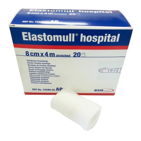 Elastomull Hospital 8 cm x 4 m