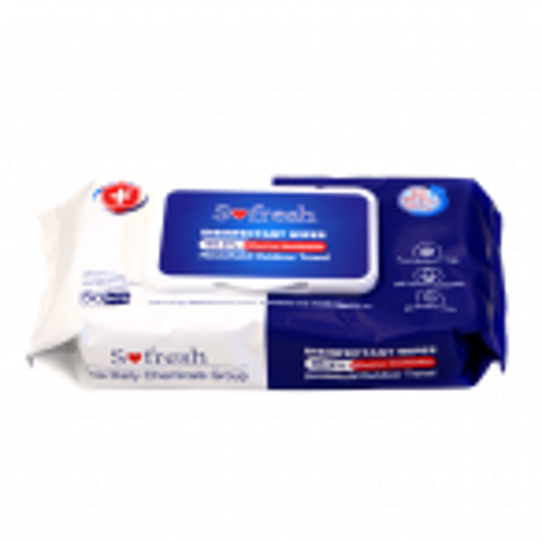 Sofresh desinfektiopyyhe, 50 kpl