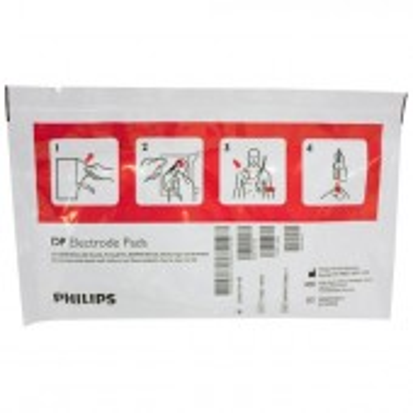 Phillips Heartstart aikuisten elektrodi, 5 paria