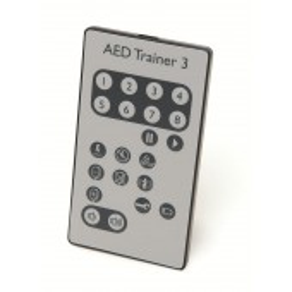 AED Trainer 3:n kaukosäädin