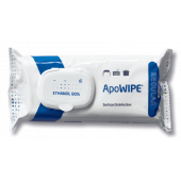ApoWipe Ethanol Regular pintadesinfektiopyyhe 80%, 32 kpl