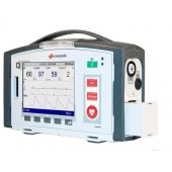 Corpuls1 defibrillaattori ja potilasmonitori