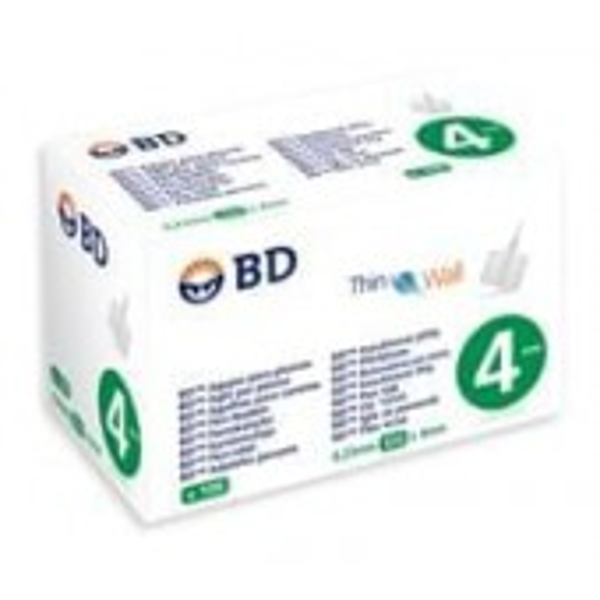 BD insuliinikynäneula 4 mm 32 G