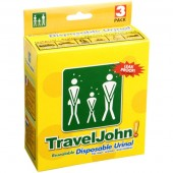 Travel John kertakäyttöinen urinaali