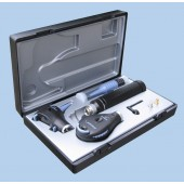 Riester Ri-scope F.O. L3 otoskooppi & L2 oftalmoskooppi, 3.5 V LED, C-kahvalla