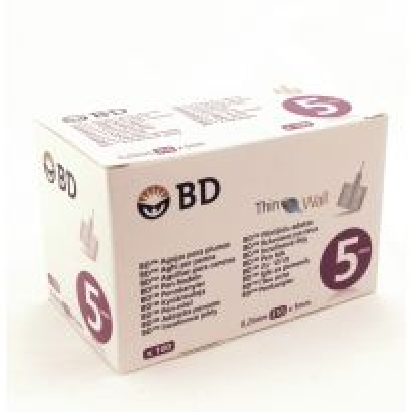 Insuliinikynäneula BD 5 mm 31 G