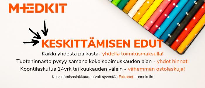 MedKit Finland keskittämisratkaisu asiakkaillemme